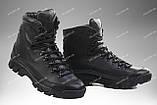 Армейские ботинки демисезонные / военная, тактическая обувь АНТЕЙ (black), фото 2