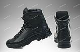 Армейские ботинки демисезонные / военная, тактическая обувь АНТЕЙ (black), фото 4