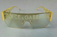 Очки брендовые женские солнцезащитные зеркальные