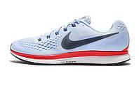 Оригинальные кроссовки Nike Air Zoom Pegasus 34 Blue/Red/Black (ART. 880555-404)