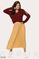 Вязаная стильная юбка Разные цвета