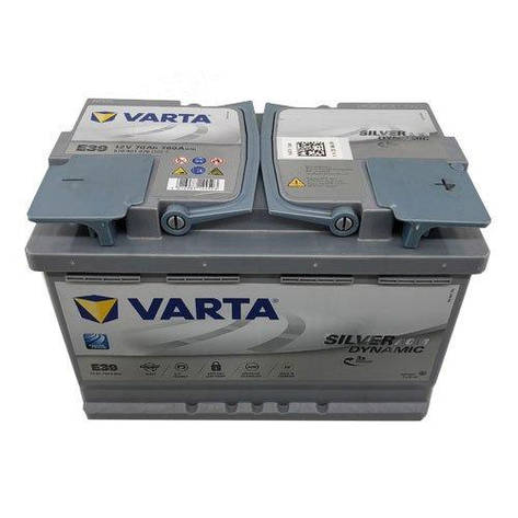 VARTA 6СТ-70 Silver Dynamic AGM 570901076 (E39) Автомобильный аккумулятор, фото 2