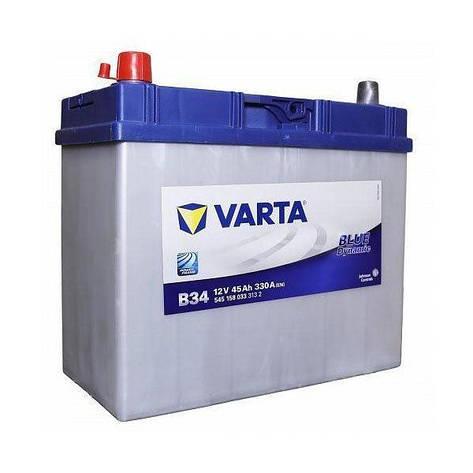 VARTA 6СТ-45 BLUE dynamic (B34) 545158033 Автомобильный аккумулятор, фото 2