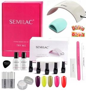 SEMILAC набор для ногтей  гель-лак  LED 24W
