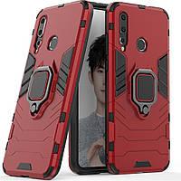 Чехол Ring Armor для Huawei Nova 4 Красный
