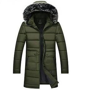 Куртка мужская, Ткань: канада Утеплитель: силикон 200 Подкладка: плащевка Цвет: хаки, чёрный, темно синий.