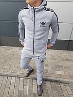 Мужской зимний спортивный костюм adidas оу