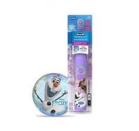 Детская электрическая зубная щетка Oral-B «frozen» olaf