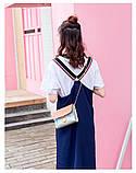"""Женская голографическая блестящая сумочка на цепочке """"БЛЕСК4"""" розовая, фото 6"""