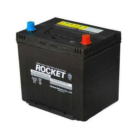 Rocket 6СТ-60 АзЕ Asia (SMF 65D23L) Автомобильный аккумулятор, фото 2