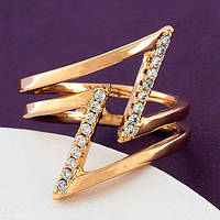 Женское кольцо из мед золота Xuping
