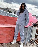 Женский теплый костюм из трехнитки на флисе, фото 1