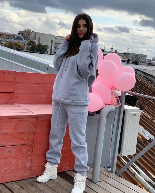 женский теплый спортивный костюм из трехнитки на флисе Arut оптовый интернет магазин женской одежды арут