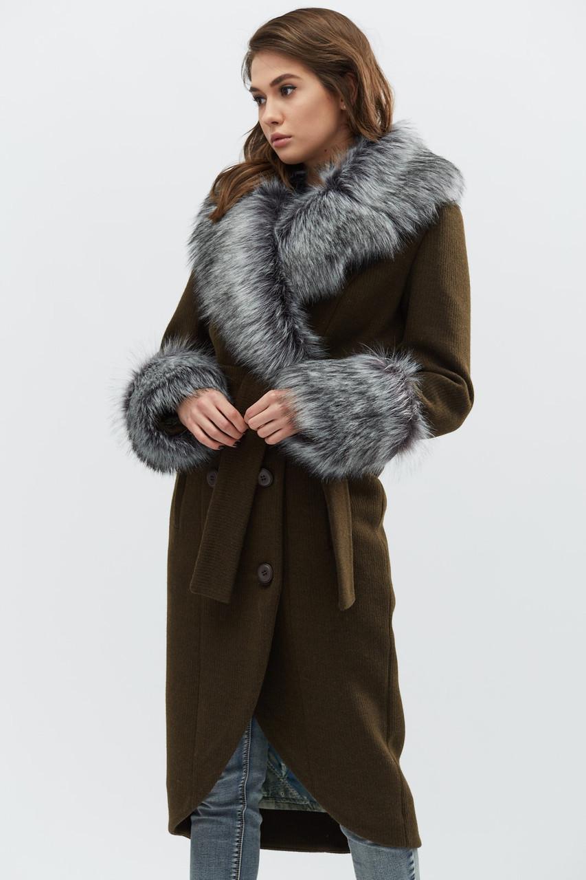 Зимнее пальто женское LS-8758-1