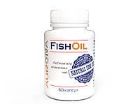 Рыбий жир, Aur-ora, витаминизированный, 60 капсул