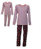 Пижама женская трикотажная,комсомольский женский трикотаж,женская одежда от производителя,стрейч кулир