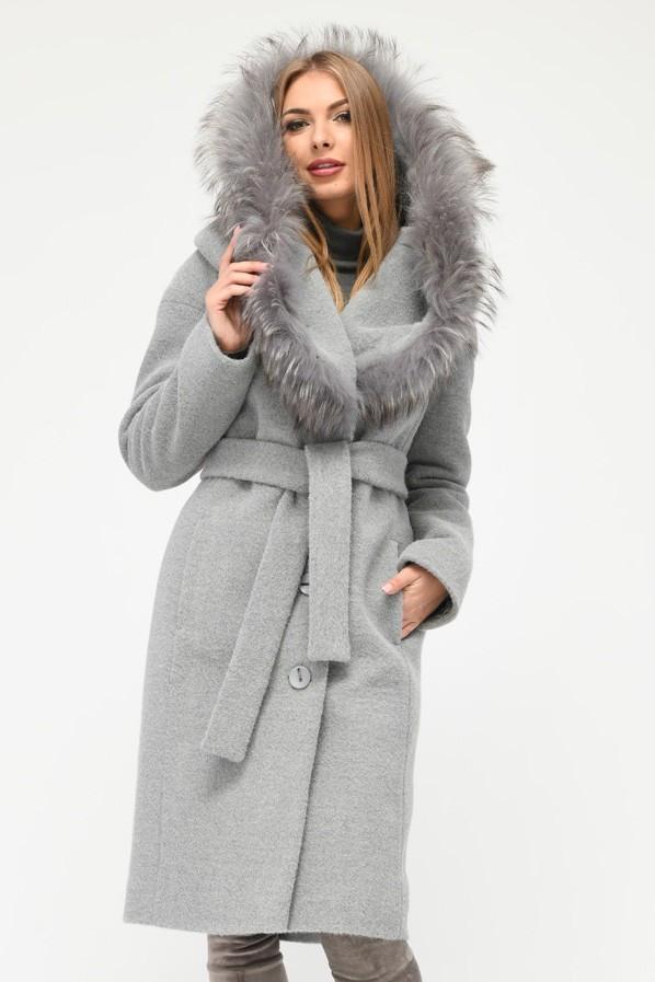 Зимнее пальто женское PL-8815-4