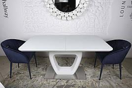 Стіл обідній TORONTO (120+(40)*80*76) білий