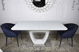 Стол обеденный TORONTO (120+(40)*80*76) белый