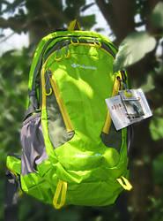 Туристический рюкзак салатовый