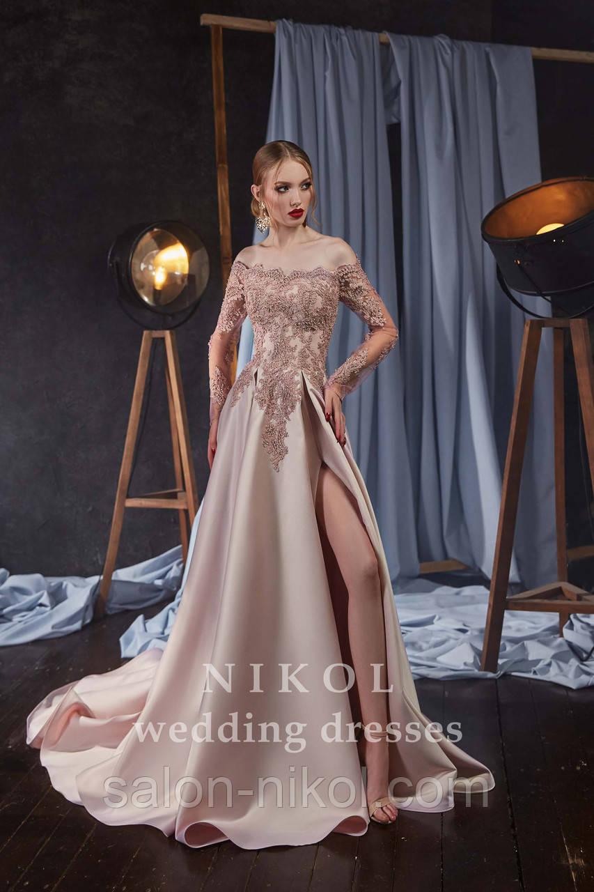 Вечернее, выпускное платье № V412