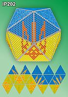 «Флаг Украины». 3D шар в машину