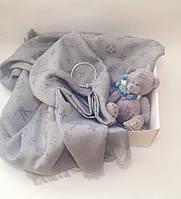 Подарочная коробка BOX  для девушки LV silver
