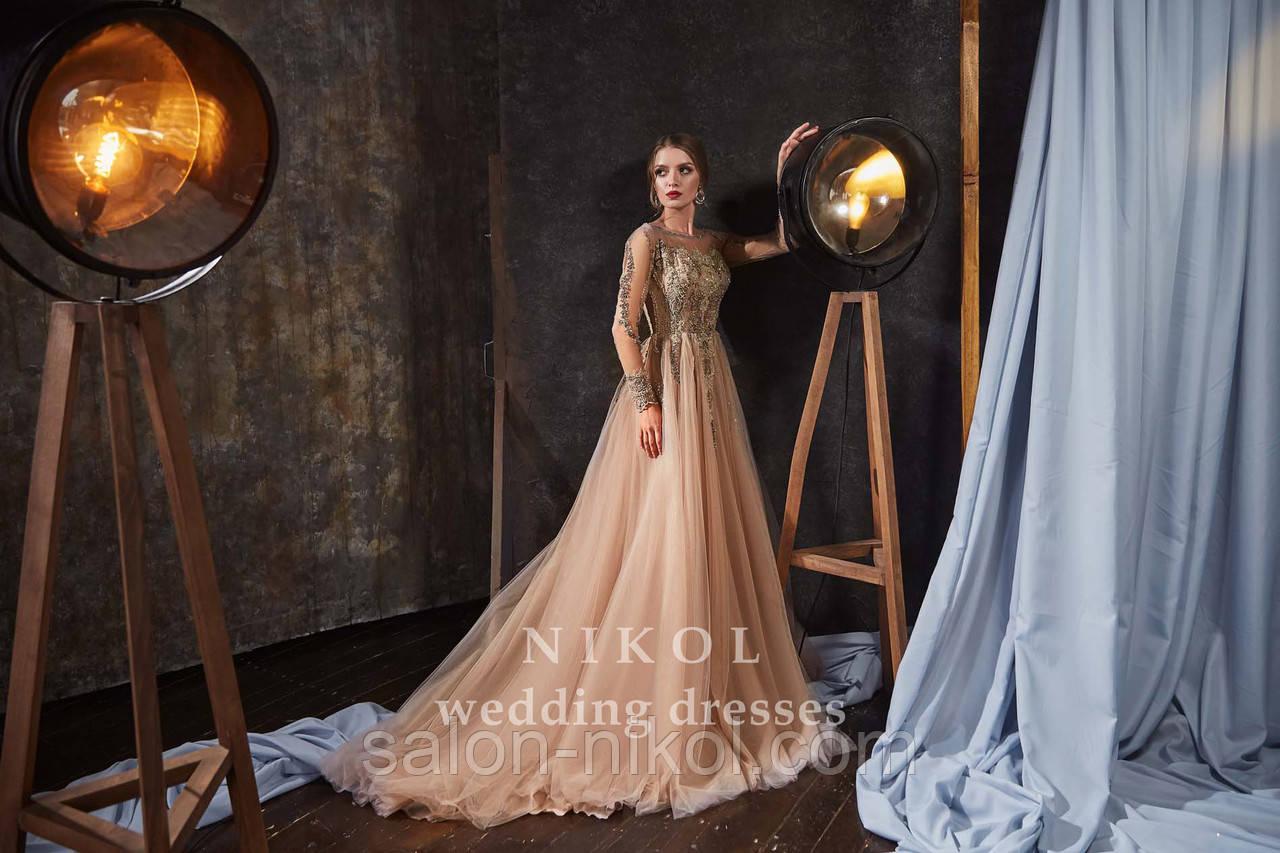 Вечернее, выпускное платье № V414