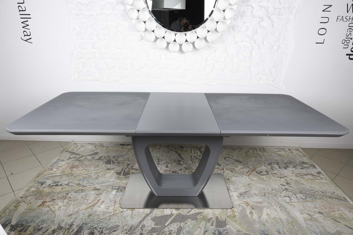 Стол обеденный TORONTO (120+(40)*80*76) графит