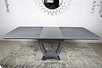 Стол обеденный TORONTO (120+(40)*80*76) графит, фото 1