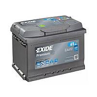 EXIDE 6СТ-61 АзЕ PREMIUM EA612 Автомобильный аккумулятор