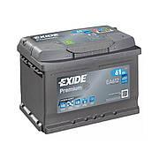 EXIDE 6СТ-61 АзЕ PREMIUM EA612 Автомобильный аккумулятор 2021 год