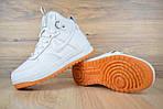 Мужские зимние кроссовки Nike Lunar Force 1 (белые), фото 5