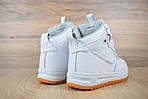 Мужские зимние кроссовки Nike Lunar Force 1 (белые), фото 6
