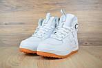 Мужские зимние кроссовки Nike Lunar Force 1 (белые), фото 7