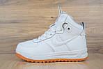 Мужские зимние кроссовки Nike Lunar Force 1 (белые), фото 8