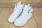 Мужские зимние кроссовки Nike Lunar Force 1 (белые), фото 9