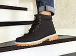Мужские ботинки Timberland (коричневые) ЗИМА, фото 4