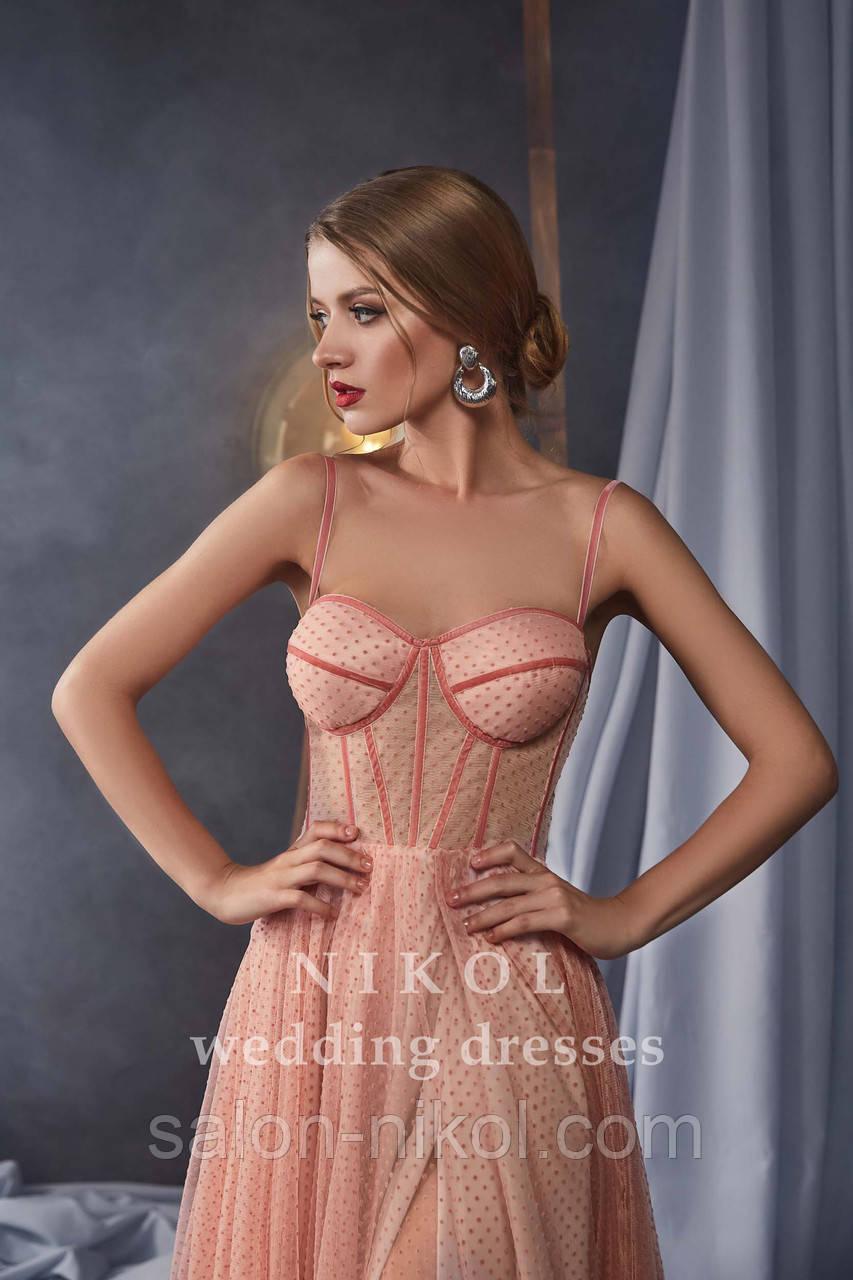 Вечернее, выпускное платье № V415