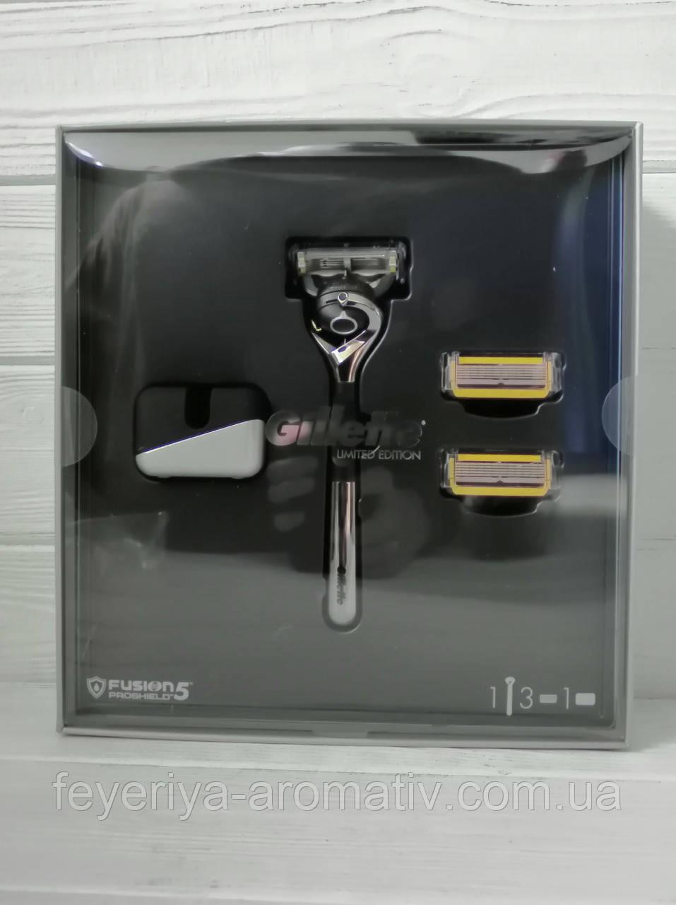 Набор станок для бритья и 3 лезвия Gillette Fusion 5 (Колумбия)