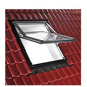 Мансардні вікна Roto R7 ПВХ ☀ Стулка відкривається назовні, з пароізоляційним фартухом, 5 клас безпеки