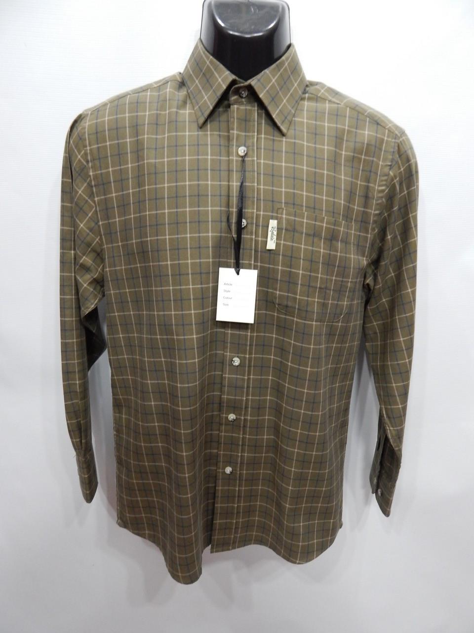 Чоловіча тепла сорочка з довгим рукавом Rydale р. 48 017RT