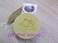 """МЫЛО-ШАМПУНЬ «алеппо» ДЕТСКОЕ с  маслом лавра без запаха ТМ """" hamam"""", фото 1"""