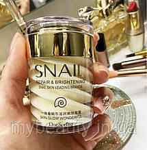 Крем для обличчя One Spring Snail Repair & Brithening з муцином равлики (60г)