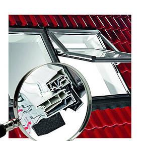 Мансардне вікно Roto R7 ПВХ тепле