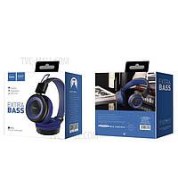 Bluetooth наушники Hoco W16 синие