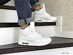 Мужские зимние кроссовки Nike Air Max 87 (белые), фото 5