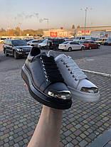 """Кросівки Alexander McQueen """"Чорні"""", фото 2"""
