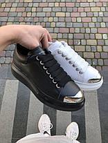 """Кросівки Alexander McQueen """"Чорні"""", фото 3"""
