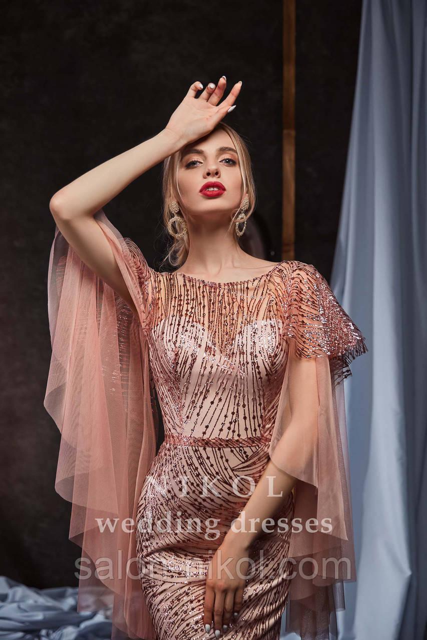 Вечернее, выпускное платье № V424